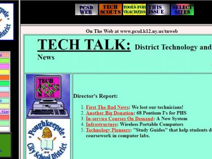Tech News PCSD Web
